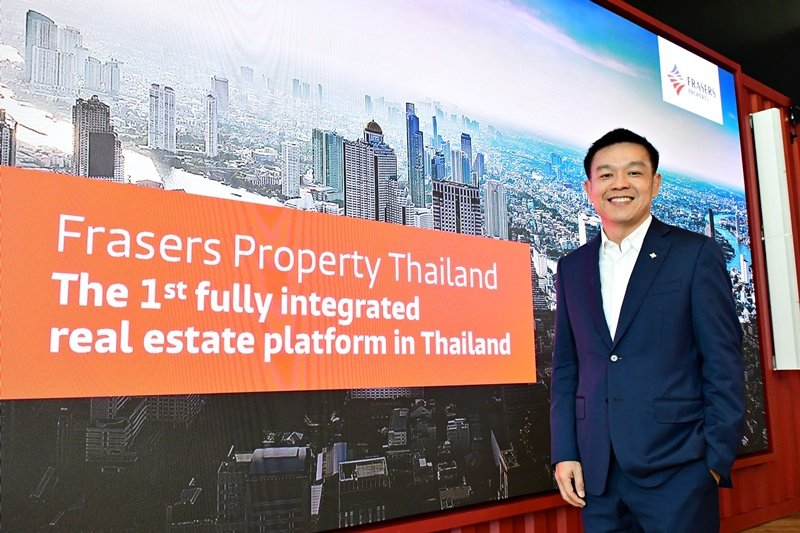 Frasers Property Thailand embarks on its 'One Platform' journey as the first fully integrated real estate platform thriving to be the 'Top 3' player in all asset classes in 2023