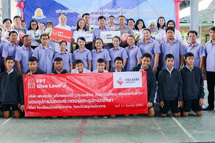 FPT Give Love Year 7 – Support Thai students' education in the digital era